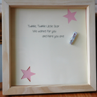 Baby Photo Frame Gift - New Baby, Baby Shower, Christening, Baptism