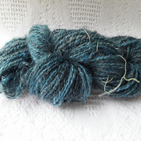 Hand spun wool from local sheep