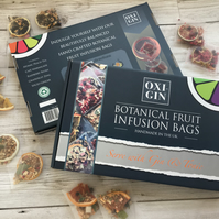 Botanical Infusion bags for Gin & Tonic. Gift Box of 10