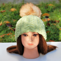 Womens winter hat - Beanie - Knit hat – ARISTOCRATS hat for women - Wool hat