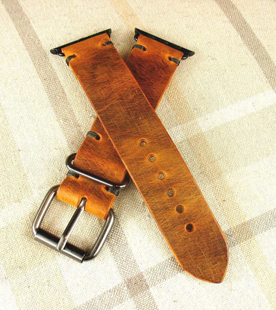 Apple Watch Strap, Apple 38mm, Apple 42mm ,Leather Apple Strap