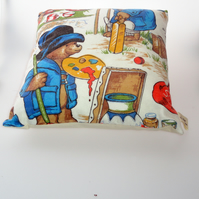 Paddington Bear hobbies  cushion cover