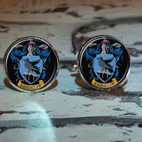 Harry Potter Ravenclaw House Logo Cufflinks