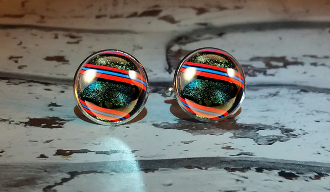 Shotty Marble No 1 Cufflinks