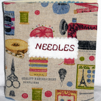 Sewing needle case with free UK delivery