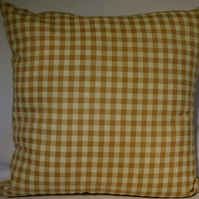 Gingham Cushion with Free UK Delivery
