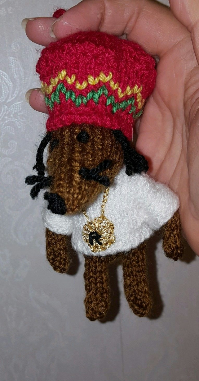 rasta mouse rear view mirror doll