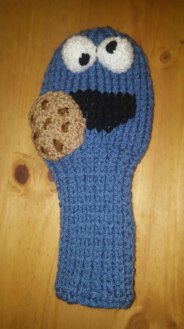 0d956b0ac8f a hand knitted golf club cover for driver in ch... - Folksy