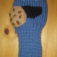 a hand knitted golf club cover for driver in choice of fun the designs