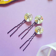 Diamante hair pins