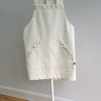Cross Over Back Pippi Apron - Short