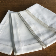 Hem Stitched Napkin - Set of 4