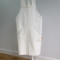 Crossover Back Pippi Apron - Long