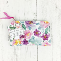 Floral Peony purse, an ideal Christmas gift for a garden lover