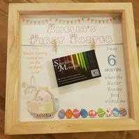 Personalised My First Easter Frame
