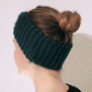 Blue Knitted Wool Handmade Hairband for Women
