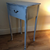French, Gustavian style hand painted Console. Perfect for hall, bedroom,