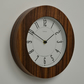 Small Walnut Wall Clock