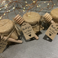 Honey Favours Personalised