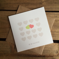 Be My Valentine Card - Limited Edition