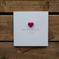Happy 1st Mothers Day from you little boy Card with Love Heart Magnet Keepsake