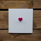 You are like a Mum to me Mothers Day Card with Love Heart Magnet Keepsake