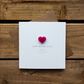 Happy Mothers Day from your Little Girl Card with Love Heart Magnet Keepsake
