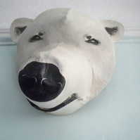 Handmade Polar Bear Mask