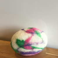 Felted Cream Bar Soap