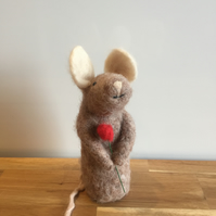 Needle Felted Mouse - Wilson