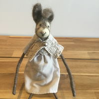 Needle Felted Easter Bunny - Betty
