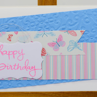 Handmade Birthday Card - Happy Birthday