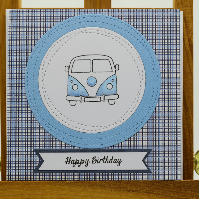 Handmade Birthday Card - 'Happy Birthday'