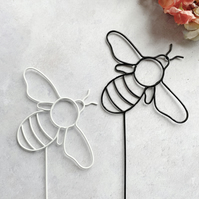 Wire Bee Cake or Plant Topper