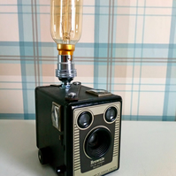 Re-purposed Brownie Six-20 Model C Table Lamp