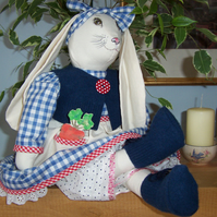 "Handmade ""MADAM LAPIN"" Rabbit"