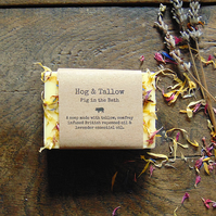Pig in the Bath - Handmade Lavender Soap
