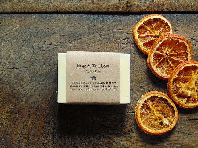 Tipsy Cow - A Handmade Soap with Cider, Sweet Orange & Clove