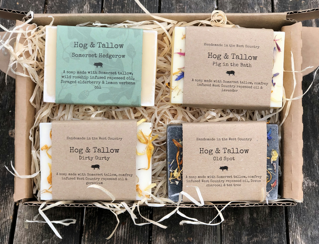 Hog and Tallow Large Gift Box