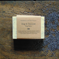 Hog Wash - A Handmade soap with Sweet Fennel, Beer & Poppy Seeds