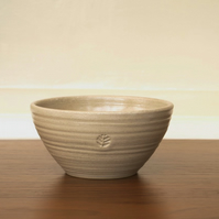 Medium sized stoneware bowl