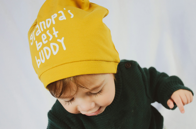 Mustard baby hat 61a45a246f2