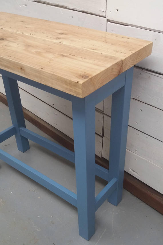 Side Table made from Reclaimed Wood