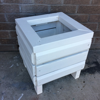 White Ash Wooden Planter