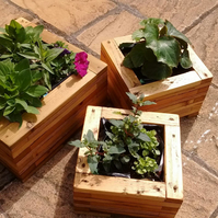 Reclaimed Wooden Planters