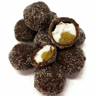 Lemon & Mallow Dark Chocolate Truffles - Gift Box of 6