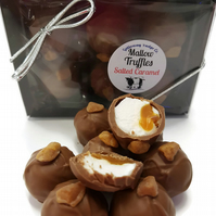 Salted Caramel & Mallow Milk Chocolate Truffles - Gift Box of 6