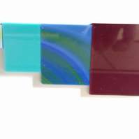 System 96 Fusing Glass 50g Mixed Colour Scrap Pack 1. Fused Glass, Stained Glass