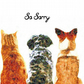 "Pet Sympathy Card, 6"" x 6"", 154cm x 154cm, Pet Loss, Dog Loss, Cat Loss"