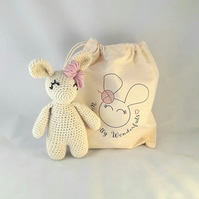Luxury Wool & Alpaca Bunny Kit available in 8 beautiful colours
